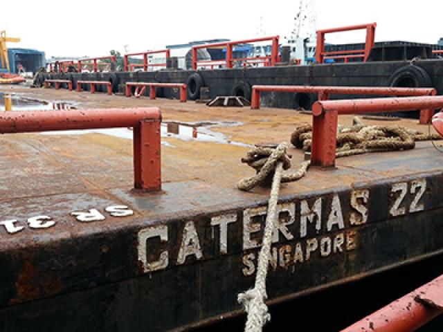120 Feet Barge