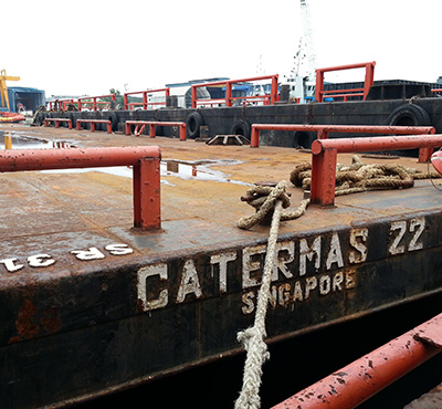 120 FT Barge - Catermas 22